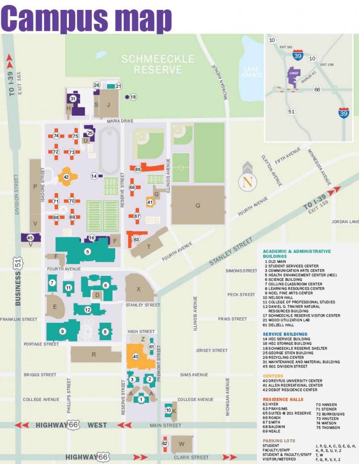 Portland State University Campus Map Map Of Portland State
