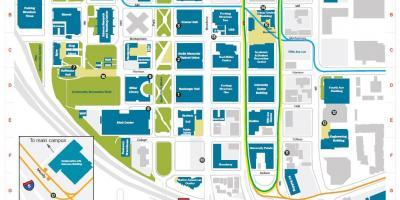 Portland map - Maps Portland (Oregon - USA)