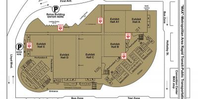 Map of Portland convention Center