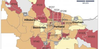 Radon map in Portland